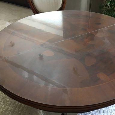Прозрачная накладка на стол Decosave