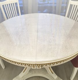Круглая накладка на стол Decosave Hard 1мм