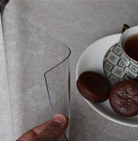 Мягкое стекло на стол заказать в Москве