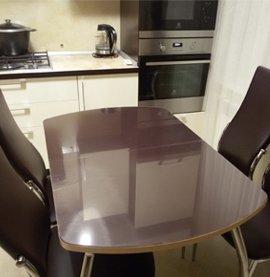 Прозрачная силиконовая защитная пленка на стол Decosave Film
