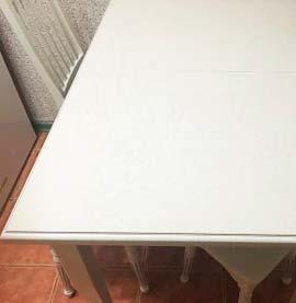 Жесткая прямоугольная накладка на стол 3мм