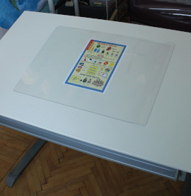 Накладка силиконовая на парту