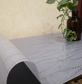 мягкое стекло с рисунком на стол