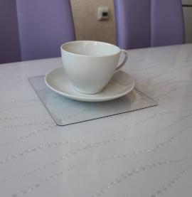 мягкое стекло с рисунком для глянцевых столов