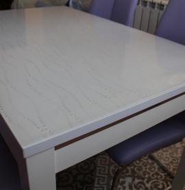 мягкое стекло с рисунком на стол купить